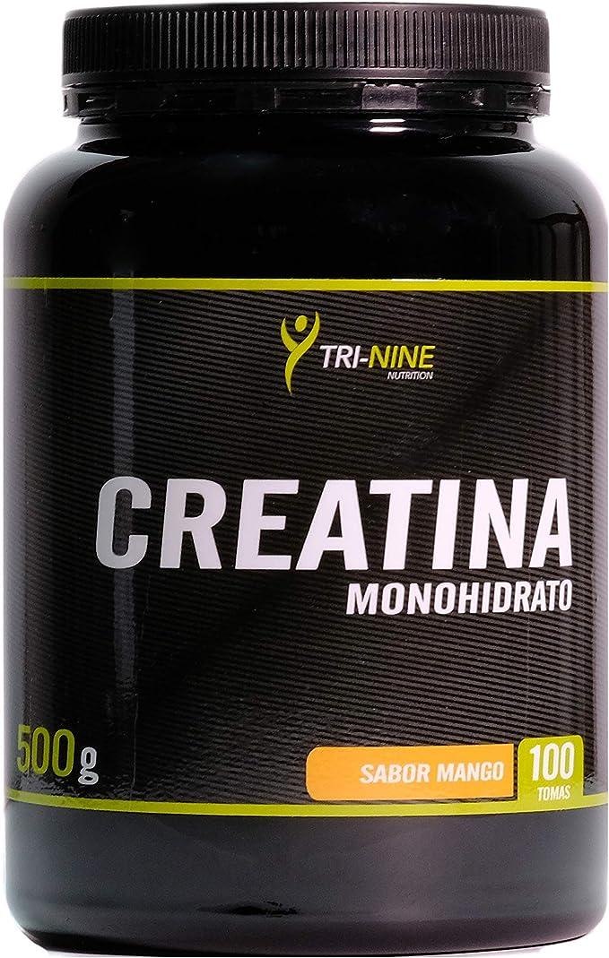 CREATINA MONOHIDRATO, Sabor Mango, 500 g