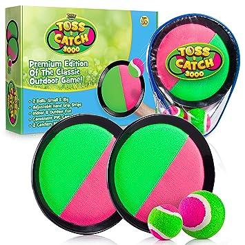YoYa Toys Juego de Pelota 3000 con paletas de Disco y 2 Bolas ...