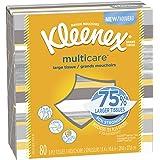 Kleenex Multicare Facial Tissues, 80 Count