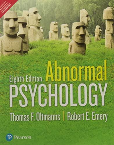 Abnormal Psychology 8 ED