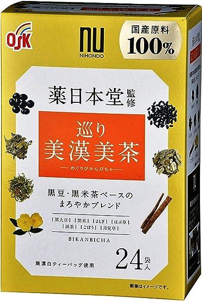 OSK薬日本堂監修 巡り美漢美茶(4.5g×24袋) ×2個 ティーバッグ