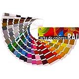 Carta de colores RAL Estándar, NCS INDEX 1950, NCS Moodscapes y ASF Especial Exteriores (RAL Estándar) Envío GRATIS 24 h.