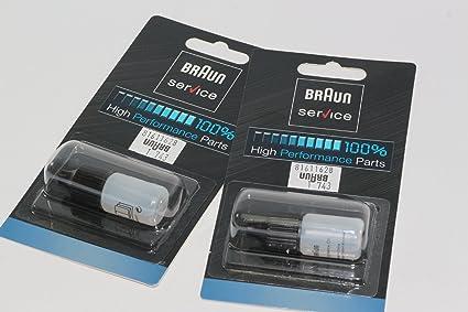 Braun - Aceite lubricante auténtico para afeitadora (2 unidades, 7 ...