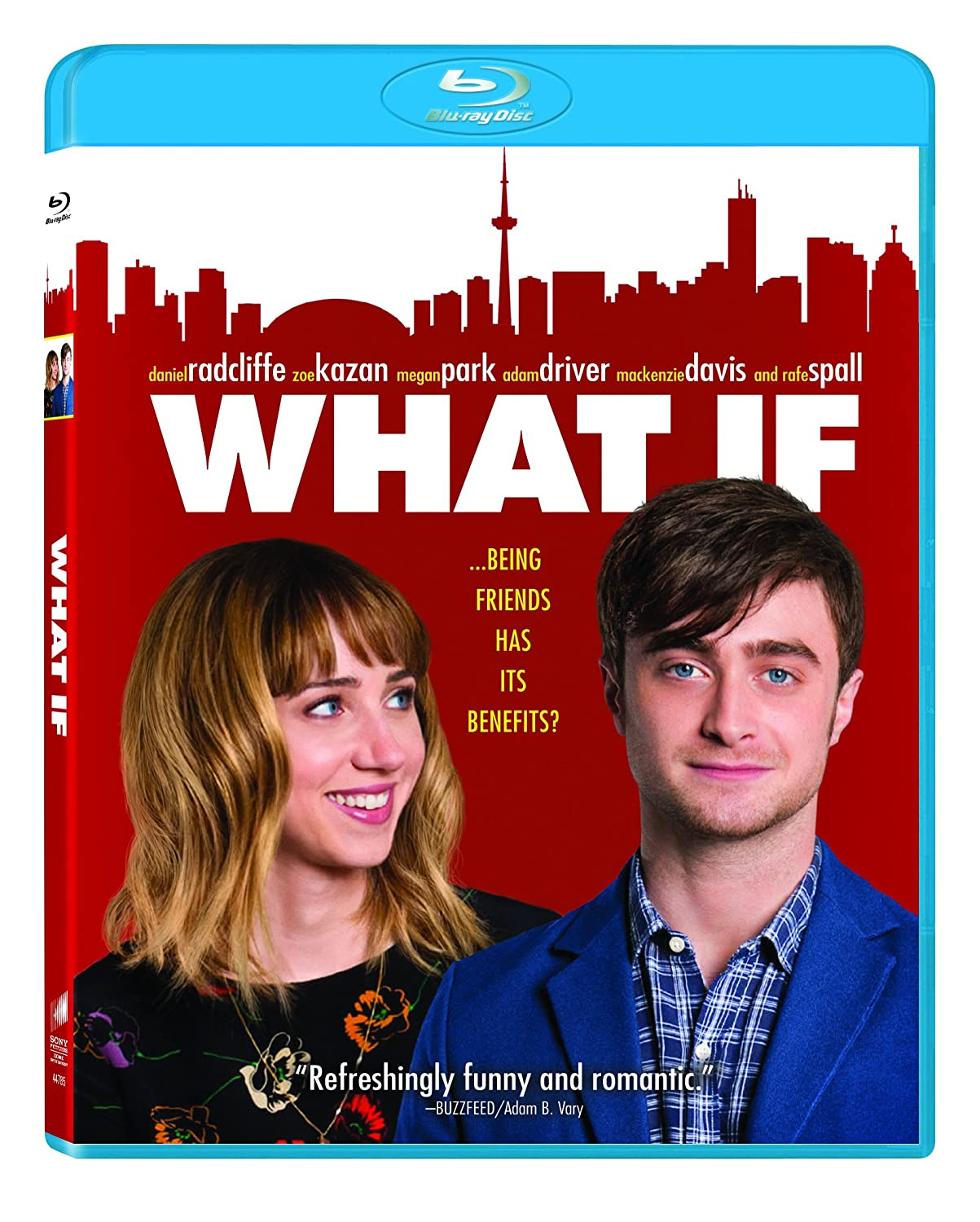 Amazon com: What If [Blu-ray]: Daniel Radcliffe, Zoe Kazan, Megan