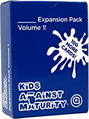 Kids Against Maturity: Card Game for Kids and Humanity, Super Fun Hilarious for Family Party Game Night, Expansion Pack #1 (C