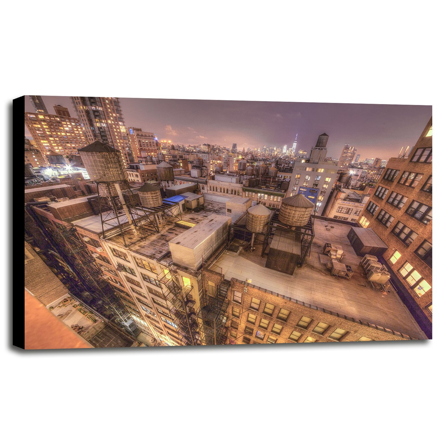Gotham City 13 Framed Print 30.0''x45.0'' by Moises Levy