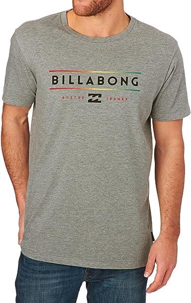 BILLABONG Unity Short Sleeve Camiseta, Hombre, Gris, XS: Amazon.es: Ropa y accesorios