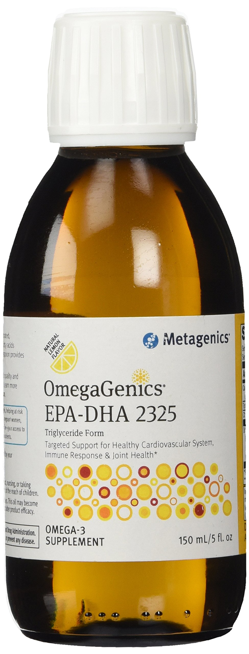 Metagenics - OmegaGenics EPA-DHA 2325 Liquid Natural Lemon Flavor - 150 ml. (formerly EPA-DHA High Concentrate Liquid)