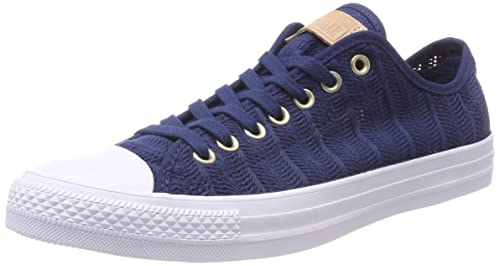 c86be2af1cb1 Converse Women s CTAS Ox Navy Tan White Trainers  Amazon.co.uk ...