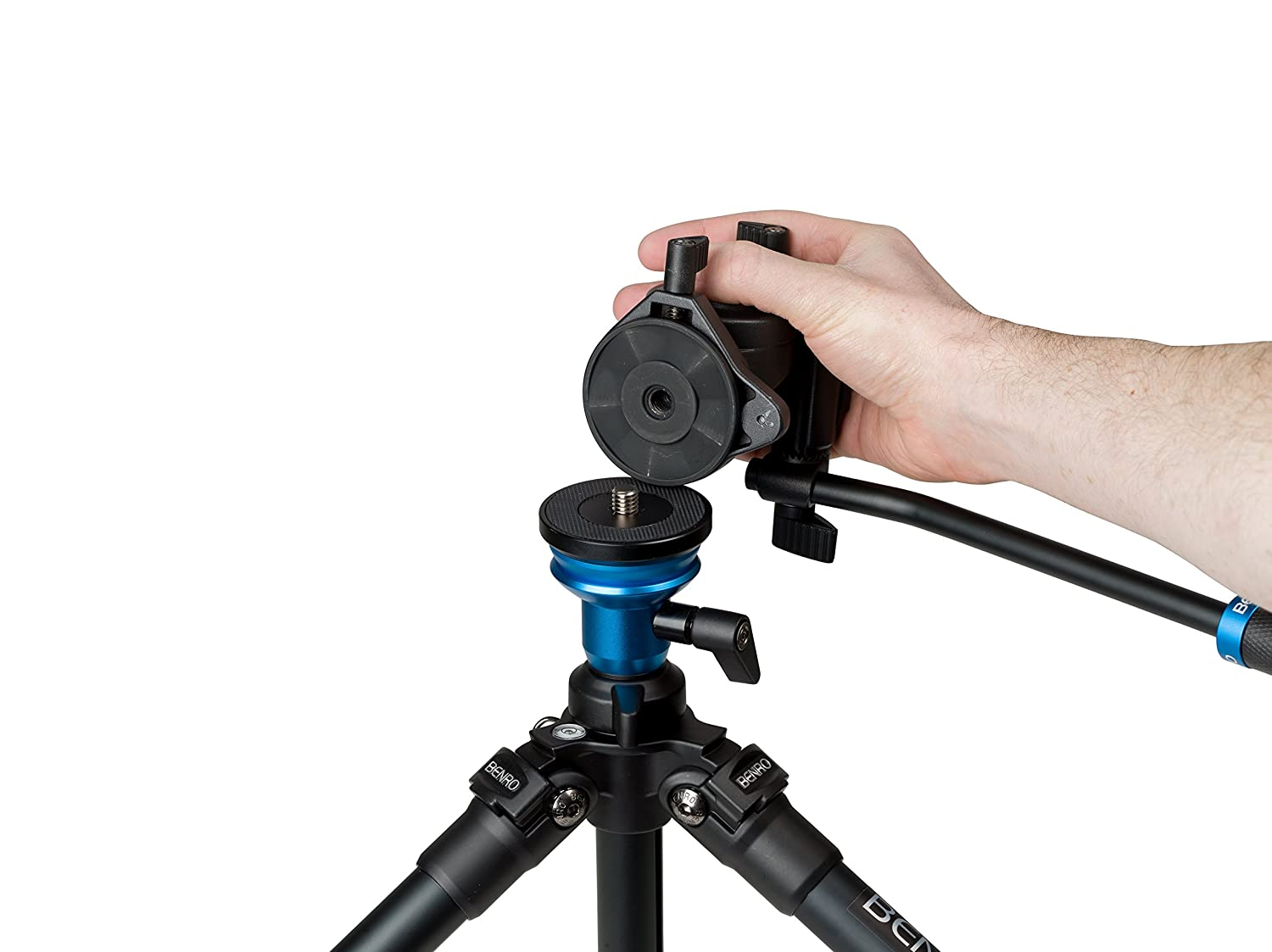 Benro S2 Video Head And Aluminum Flip Lock Legs Kit A1883fs2c Aero 2 Travel Angel Tripod A1573fs2 Camera Photo