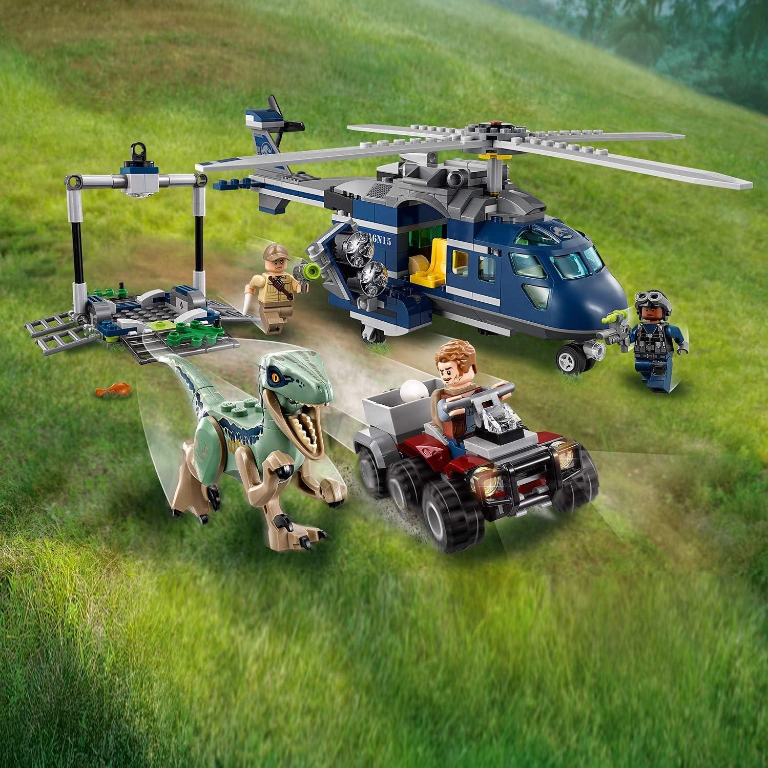 LEGO Jurassic World 75928 Inseguimento Sull/'elicottero Di Blue NUOVO