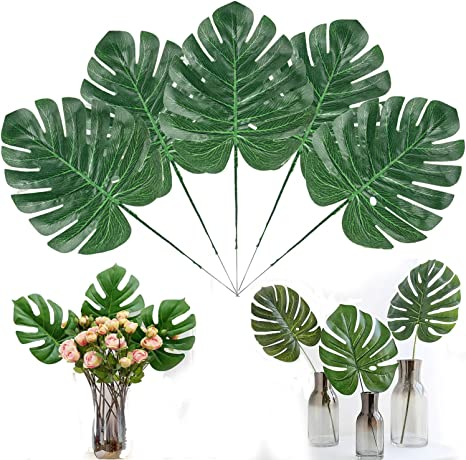Amazon Com 30pcs Artificial Tropical Palm Leaves With Stems 15 7 Inch Hawaiian Luau Party Jungle Beach Theme Decorations For Table Decoration Accessories Kitchen Dining Design great graphics about tropical vacation centers, spring break, beach and more with this set of tropical leafs and decorate your project, shop or publication, create special articles or promotions about summer vacations. 30pcs artificial tropical palm leaves with stems 15 7 inch hawaiian luau party jungle beach theme decorations for table decoration accessories