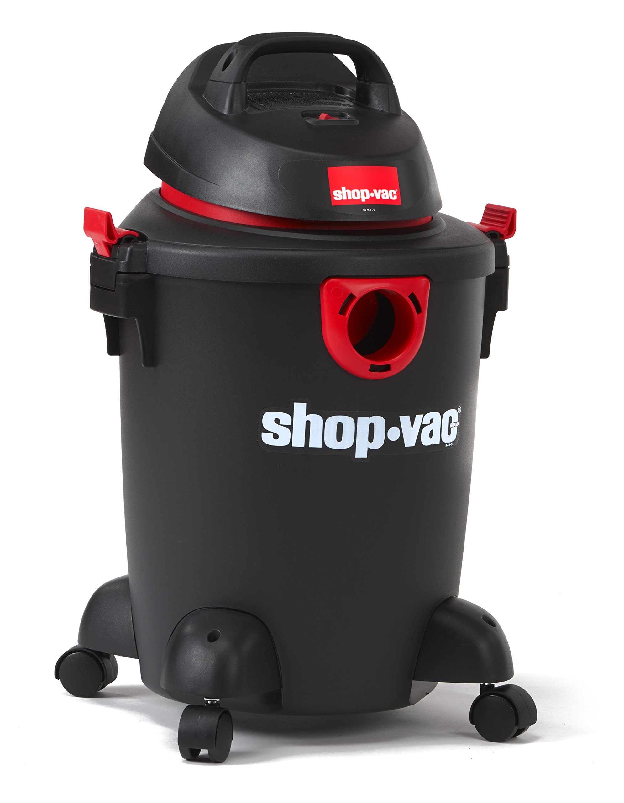 Shop-Vac 5985000 6 gallon 3.0 Peak HP Classic Wet Dry Vacuum, Black/Red