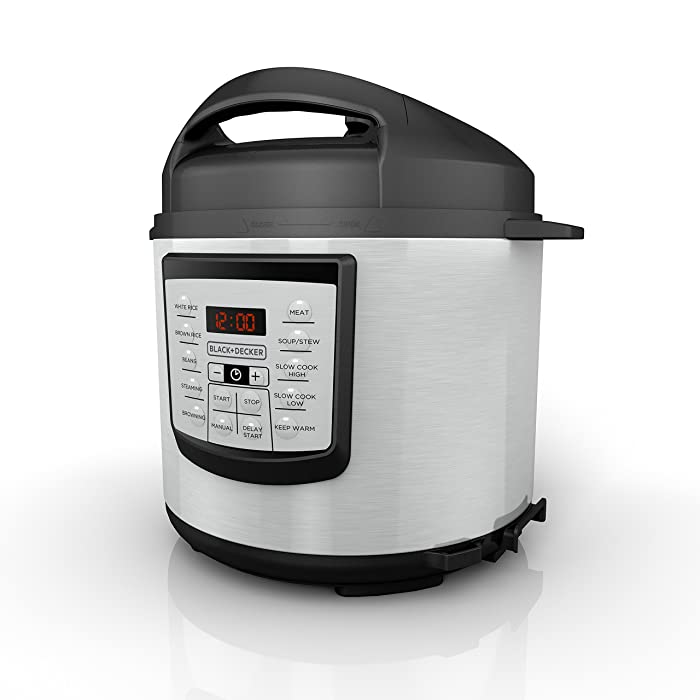 The Best Black And Decker Pressure Cooker 6 Quart