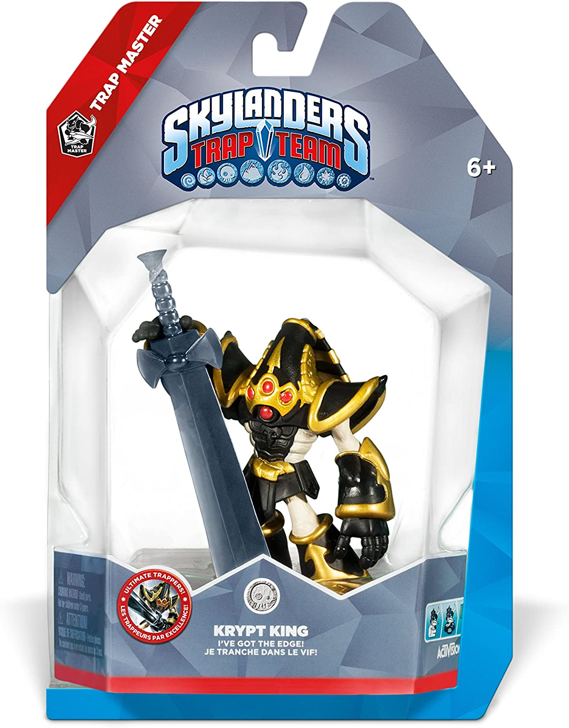 Amazon Skylanders Trap Team Master Krypt King Character Pack Video Games