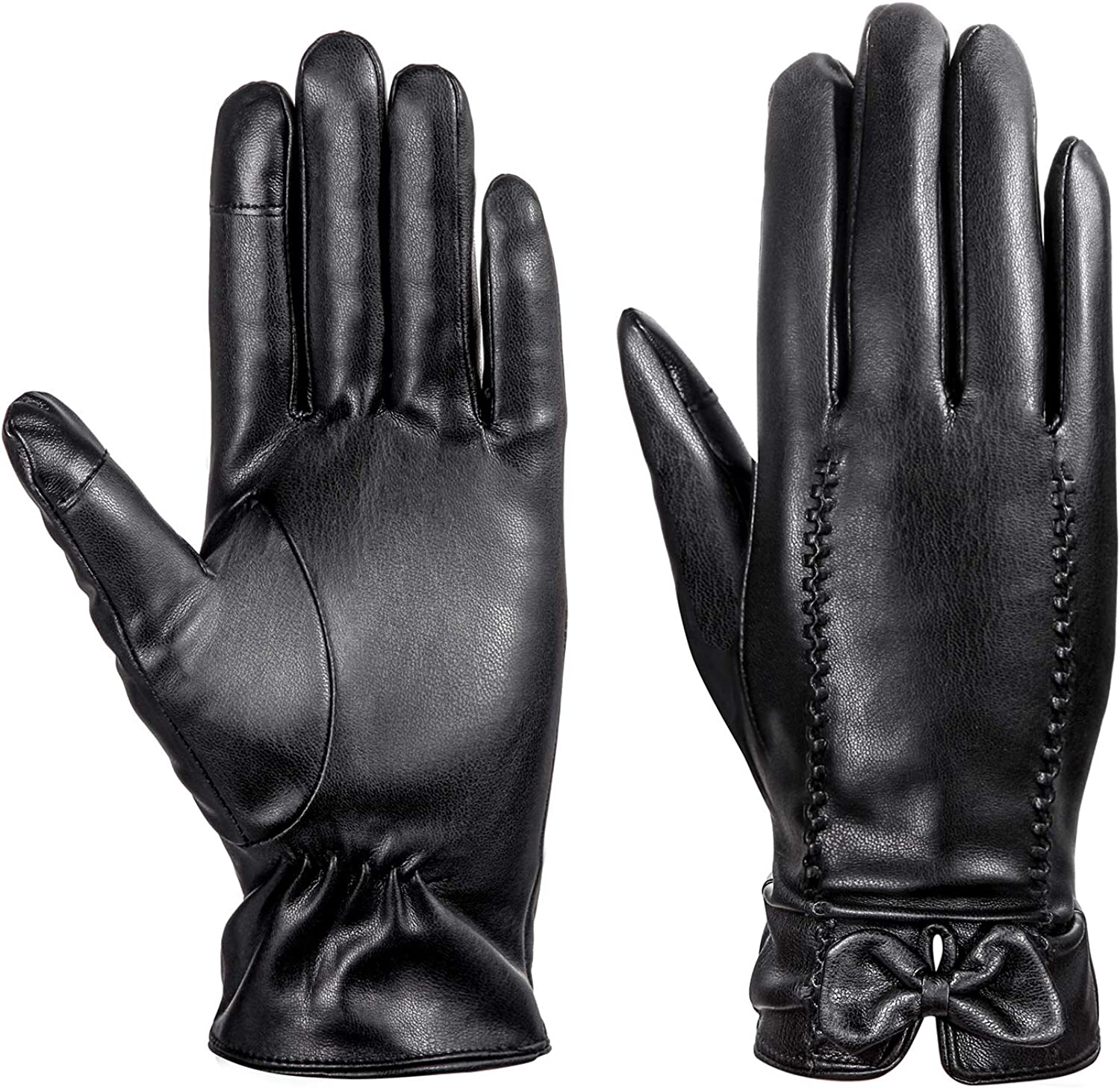 Leather Gloves MEZETIHE...