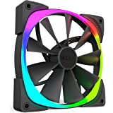 NZXT Aer RGB Computer case Fan - computer cooling components (Computer case, Fan, Not supported, Not supported, Black)