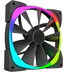 NZXT AER RGB140 Series 140 mm RGB LED Fan - Black