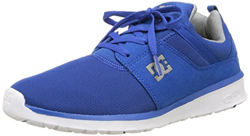 DC Shoes Heathrow M Shoe Bkw - Zapatillas para hombre, Azul, 45 EU: DC Shoes: Amazon.es: Zapatos y complementos