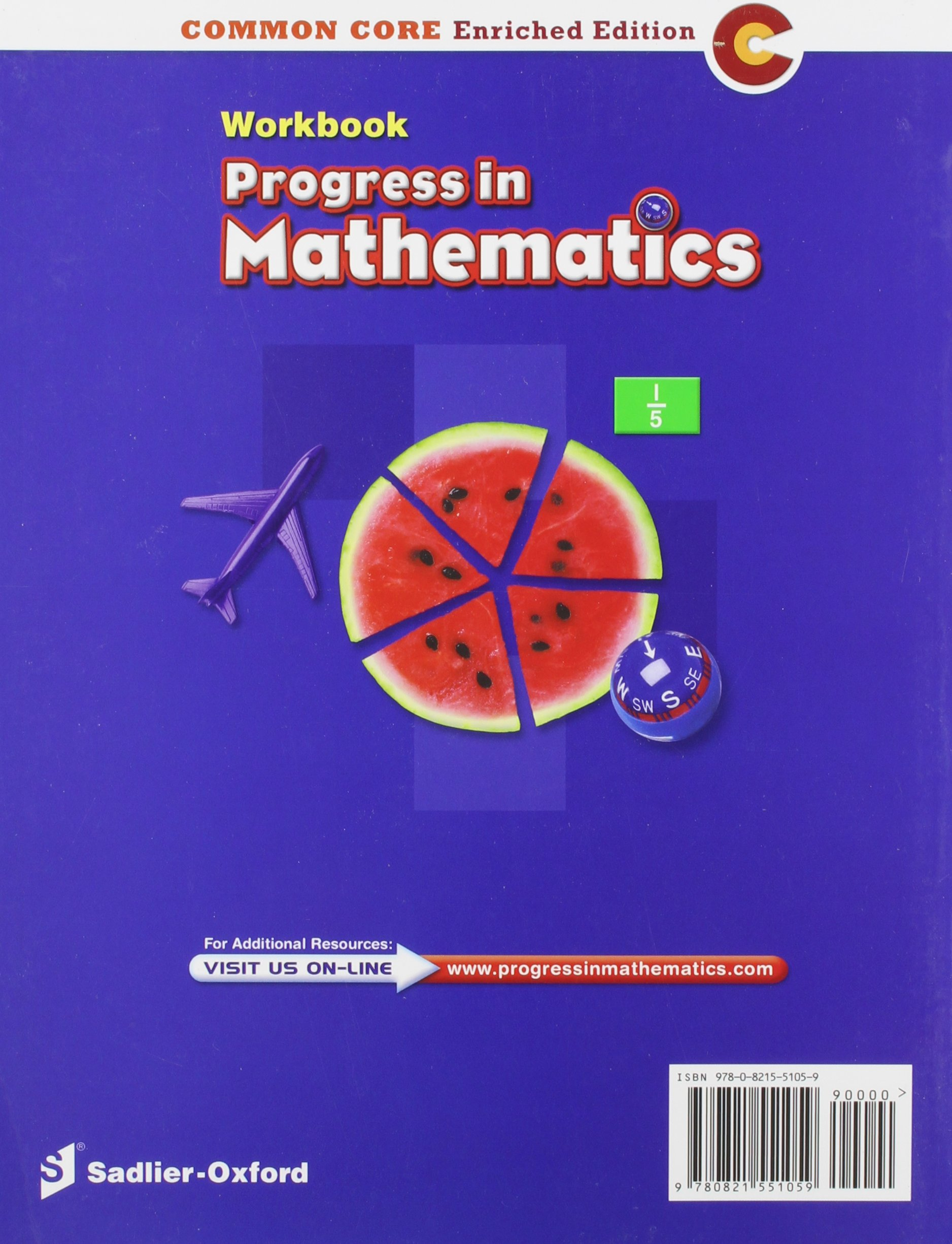 Progress in Mathematics: Work Book Grade 5: Catherine D