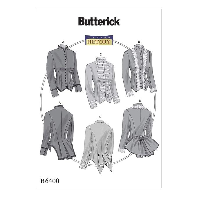 Butterick Patterns Butterick 6400 E5 Schnittmuster Kostüm ...