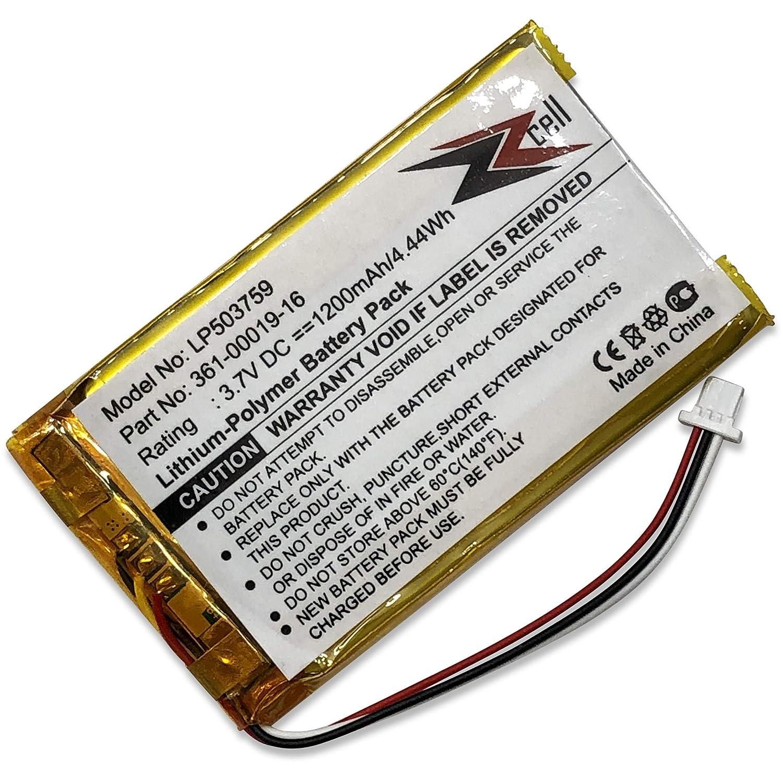 1370 1340T Pro 1350 1390T 1390 ZZcell Battery for Garmin 361-00019 ...