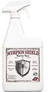 Cedarcide Scorpion Shield (Quart) Indoor Natural Cedar Oil Pest Control Spray - Kills & Repels Scorpions and Other Pests Guaranteed - All Natural - Pet Safe