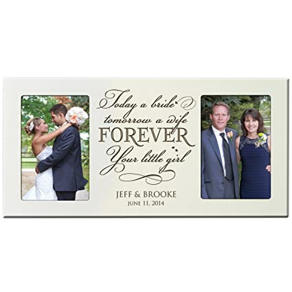 Amazon.com - Personalized Parent Wedding Gifts wedding Picture Frame ...