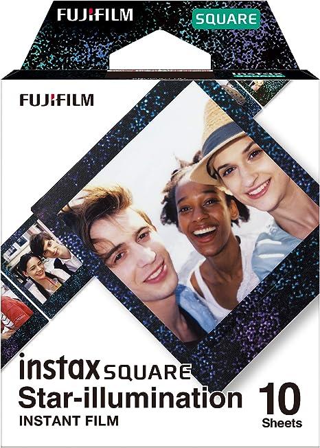 Fujifilm Instax Square Película, Star Illumination, 10 Shot Pack: Amazon.es: Electrónica