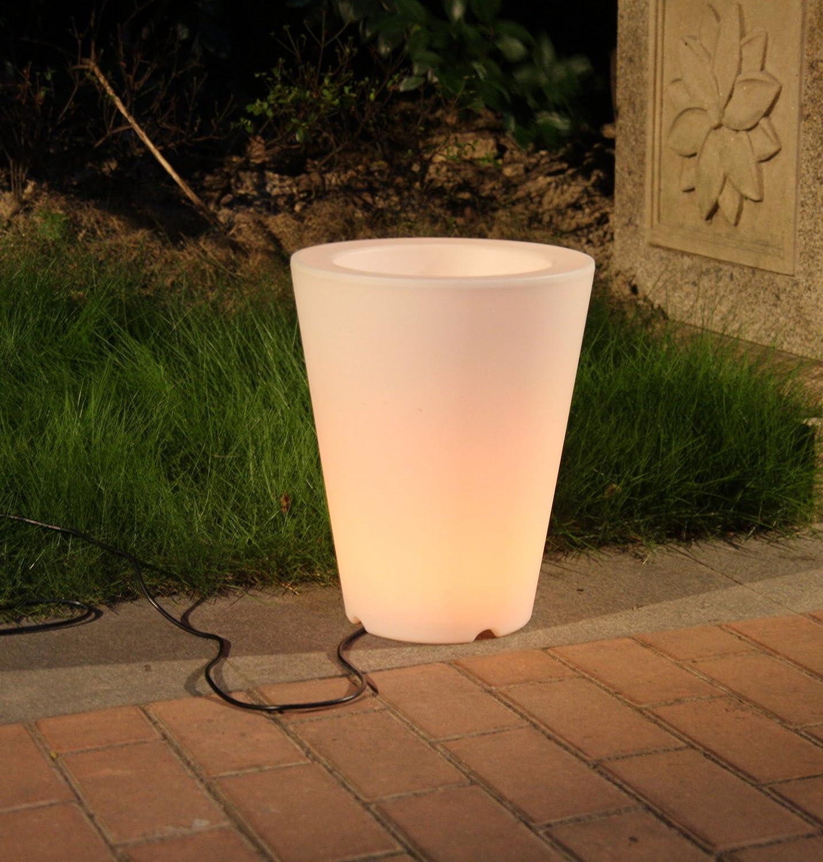 Amazon Solar Flower Pot Lights Led Planter Vase Lamp Garden