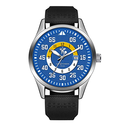 LEAP X PIONEERS - Reloj analógico Deportivo de Cuarzo Militar Impermeable LPT10: Amazon.es: Relojes