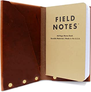 product image for American Bench Craft Personalized Leather Passport Holder and Field Notes Cover, Passport Case