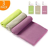 Eono by Amazon - 3 Pcs 100x30cm Toalla