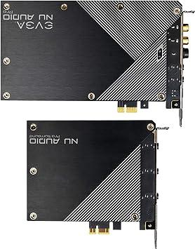 Evga Nu Audio Pro 7 1 Surround Lifelike Audio Pcie Rgb Led Backplate Designed With Audio Note 712 P1 An21 Kr