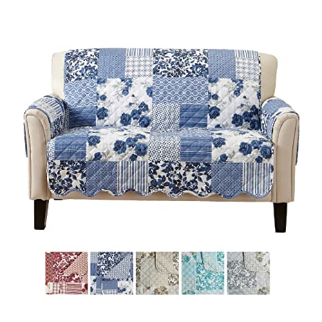 Great Bay Home Patchwork - Protector de Muebles Estampado ...