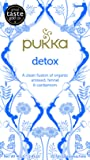Pukka Detox, Organic Herbal Tea with Aniseed & Fennel (4 Pack, 80 Tea bags)