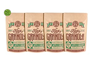 Flax Granola 4 Pack (Apple Cinnamon)
