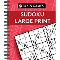 Brain Games - Sudoku Large Print (Red)