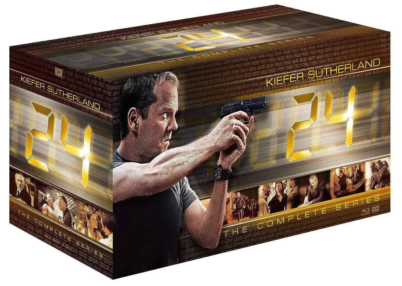 24 -TWENTY FOUR- ジャックバウアー コンプリートDVD-BOX(「リブアナザーデイ」ブルーレイディスク付) B01LTHL0F6
