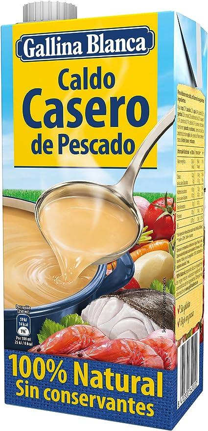 Gallina Blanca Caldo Casero de Pescado, 100% Natural, 1L ...