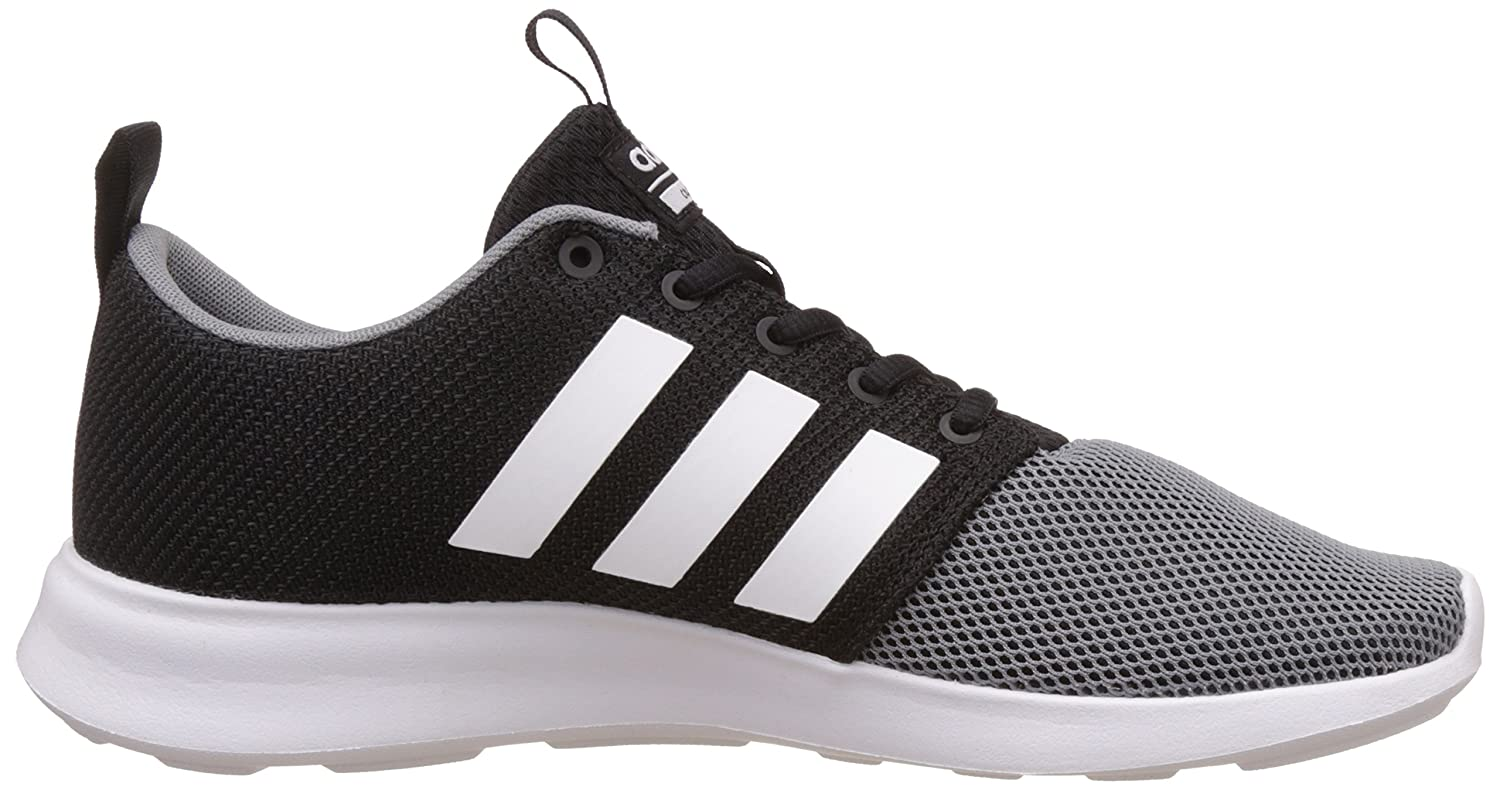 adidas neo Men's Cloudfoam Swift Racer Cblack and Ftwwht, Grey Sneakers - 6  UK/India (39.33 EU): Buy Online at Low Prices in India - Amazon.in