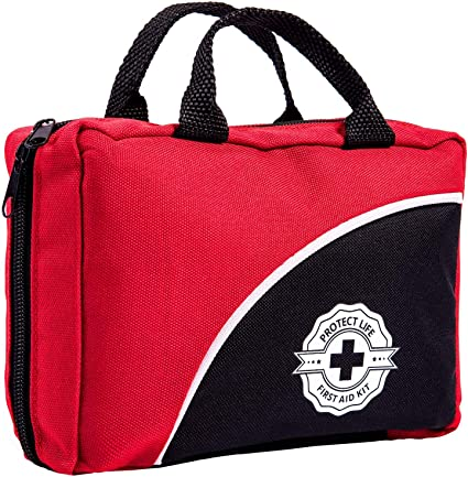 177 Piece First Aid Kit Supplies Emergency Survival Bug Out Medical Bag Prepper