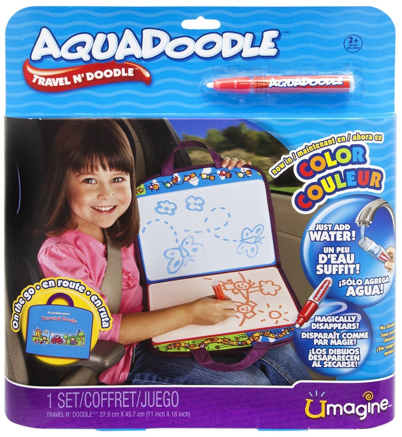 Spin Master AquaDoodle Travel Doodle Mat by Spin Master (Image #1)