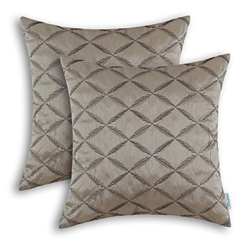 Taupe Throw Pillow Amazon Com