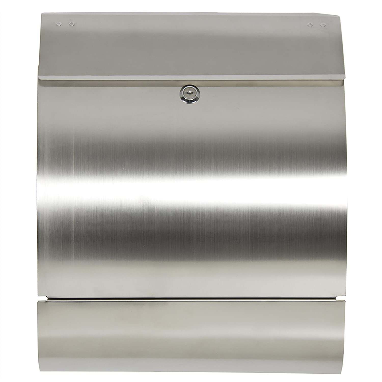 best choice products sky166 stainless steel mailbox security mailboxes amazoncom - Modern Mailboxes