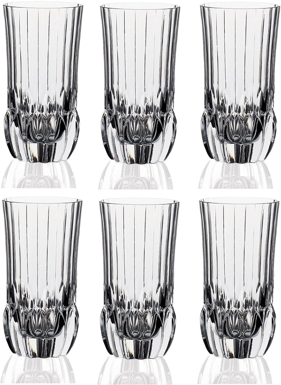 RCR Crystal Adagio Hiball Tumbler Glasses - 400ml (13.5oz) - Set of 6 24301020006 24301020006_-