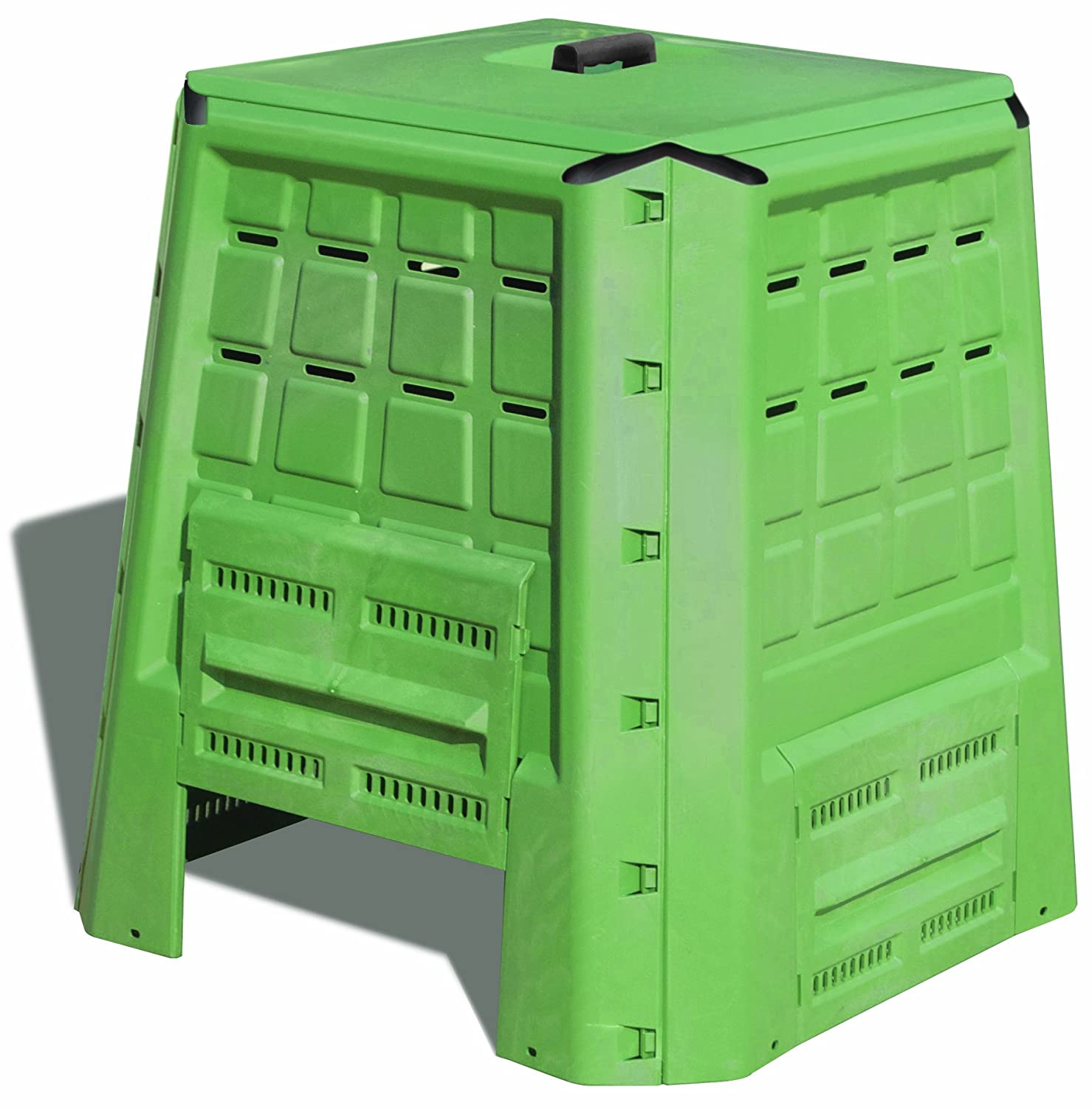 Art Plast BC380 Bio Composter in plastica, verde: Amazon.es ...