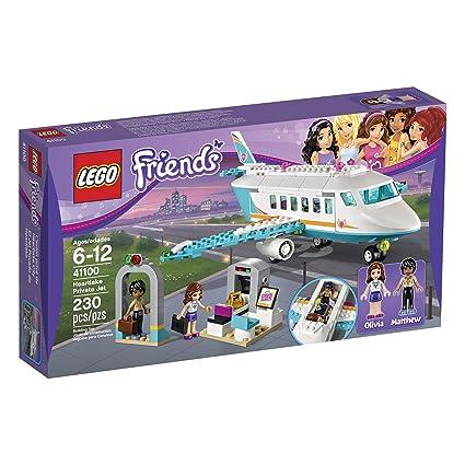 Amazoncom Lego Friends 41100 Heartlake Private Jet Building Kit