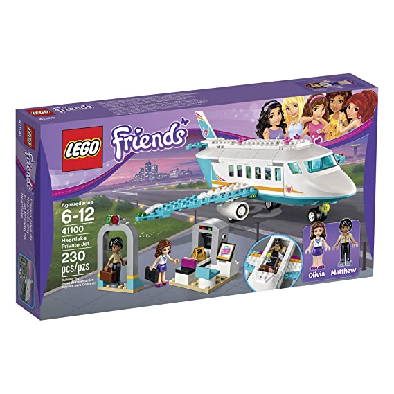 Amazoncom Lego Friends 41100 Heartlake Private Jet Building Kit