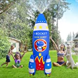ROYPOUTA Inflatable Sprinkler for Kids Yard Outdoor Water Play-6ft Giant